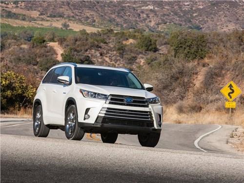 Новость про Toyota Highlander - Toyota представила обновленный Highlander
