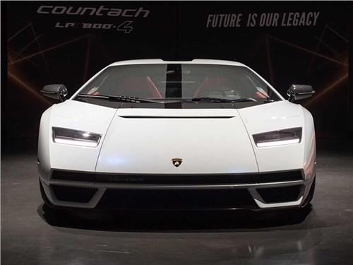 Представлен возрожденный Lamborghini Countach
