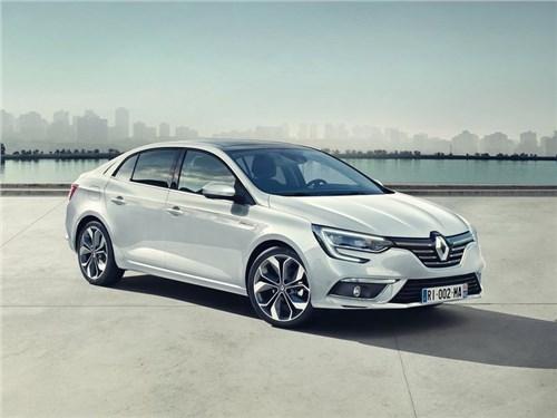 Новость про Renault Megane - Renault рассекретил новое поколение седана Megane