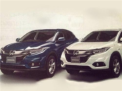 Обновленная Honda HR-V: первое изображение