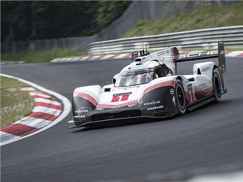 Porsche побила абсолютный рекорд Нюрбургринга. Он держался 35 лет