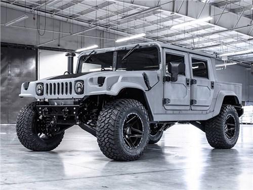 Американцы вновь начали продавать Hummer H1