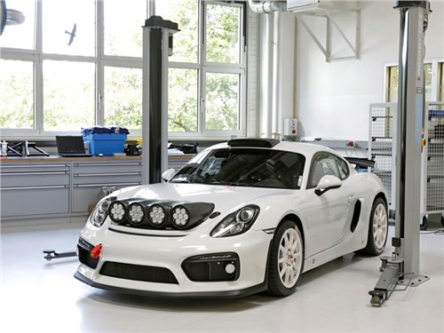 Porsche возвращается в ралли