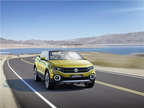 Самый маленький кроссовер Volkswagen представят в этом году