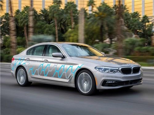 BMW привезла на CES 2017 беспилотный 5-Series