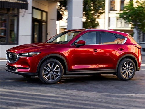 Новость про Mazda CX-5 - Mazda представила новое поколение кроссовера CX-5