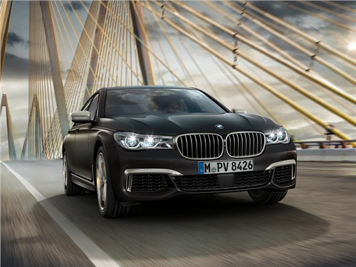 Новость про BMW 7 series - BMW опубликовала стоимость самого мощного 7-Series для российского рынка