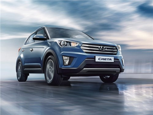 Новость про Hyundai Creta - Hyundai Creta российской сборки вышли на украинский авторынок