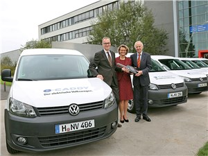 Новый Volkswagen Caddy - Volkswagen e-caddy