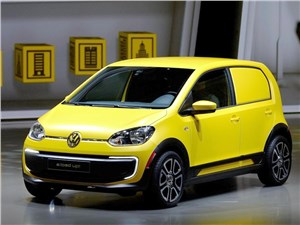 Volkswagen e-load Up! 2013 вид спереди