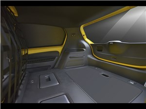 Предпросмотр volkswagen e-load up! 2013 багажное отделение 2