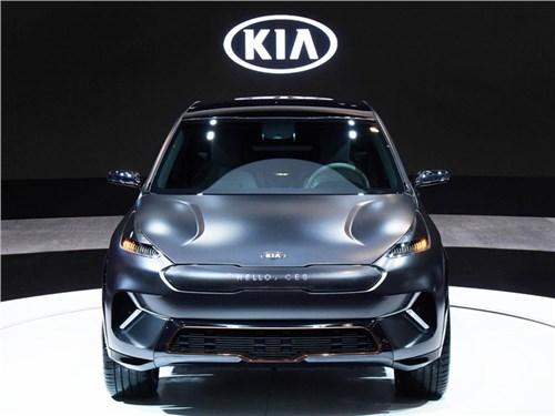 Kia представила электрический концепт кроссовера