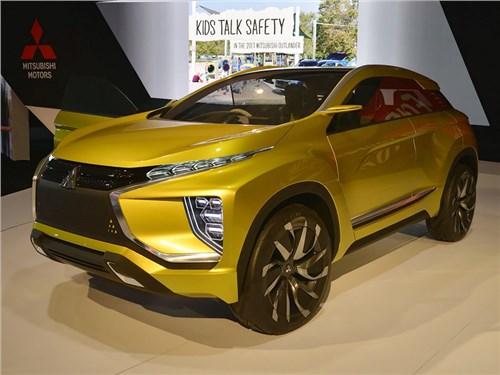 Новость про Mitsubishi - Mitsubishi привезла концептуальный кроссовер eX в Лос-Анджелес