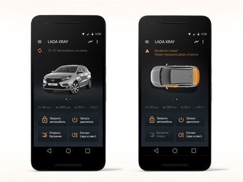 АвтоВАЗ продемонстрировал возможности системы Lada Connect
