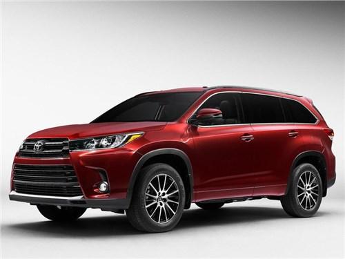 Toyota привезет в Россию Highlander нового поколения