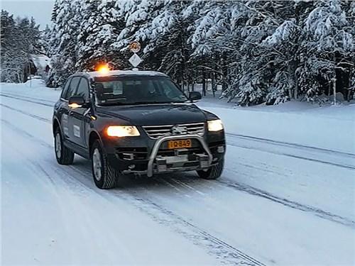 В Финляндии разработали беспилотник для зимних дорог