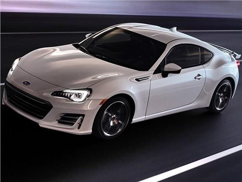 Subaru представила обновленную версию BRZ