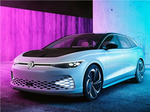 Volkswagen представил универсал на батарейках