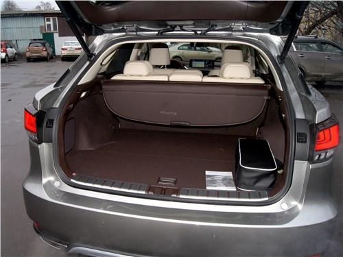 Lexus RX 350 2020 багажное отделение
