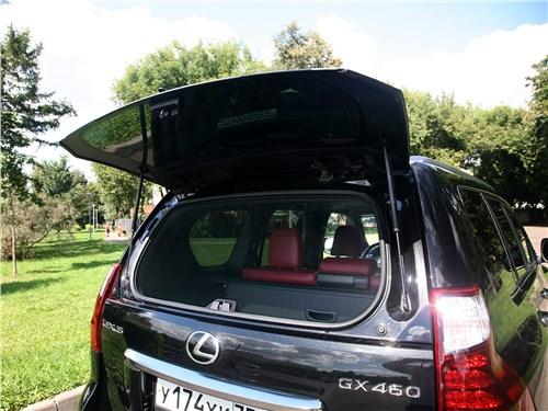 Lexus GX 460 2020 багажное отделение