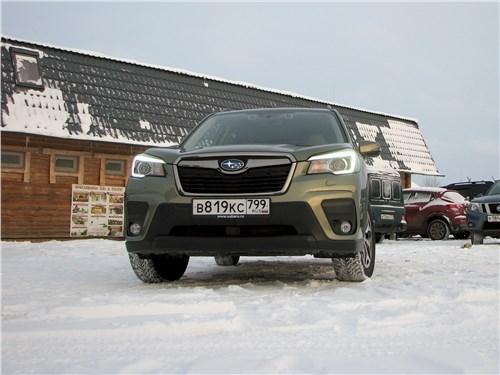 Subaru Forester 2019 вид спереди
