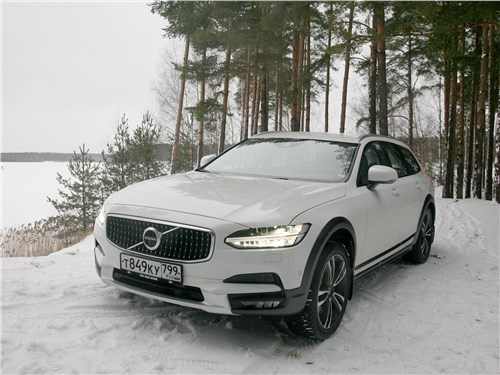 Volvo V90 Cross Country 2017 вид спереди