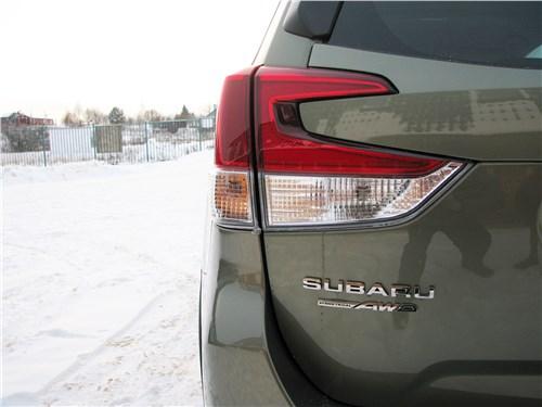 Subaru Forester 2019 задний фонарь