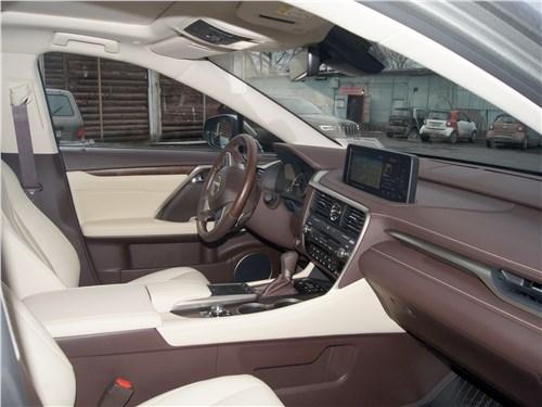 Lexus RX 350 2020 салон