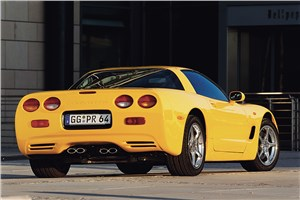 Предпросмотр chevrolet corvette 2001 в кузове тарга фото 6