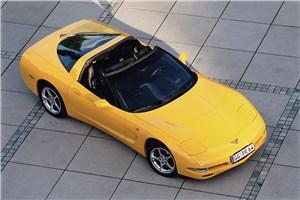 Предпросмотр chevrolet corvette 2001 в кузове тарга фото 4