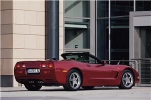 Предпросмотр chevrolet corvette 2001 в кузове кабриолет фото 5