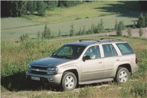 Предпросмотр chevrolet trailblazer 2001 фото 7