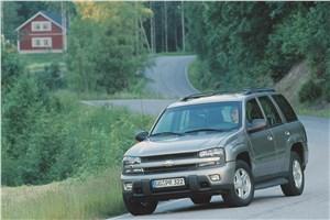 Предпросмотр chevrolet trailblazer 2001 фото 11