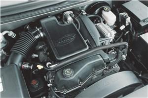 Предпросмотр chevrolet trailblazer 2001 двигатель vortec 4_2