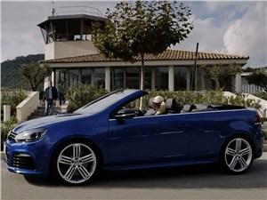 Volkswagen продемонстрировал открытый Golf R