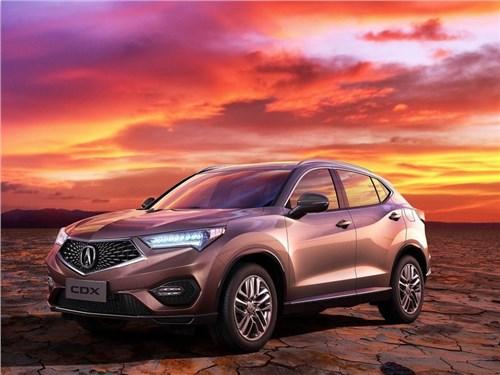 Acura привезла на Пекинский автосалон новый кроссовер CDX