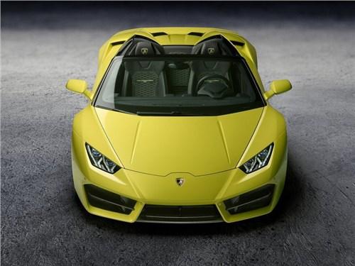 Новость про Lamborghini - Lamborghini привезла в Лос-Анджелес заднеприводную версию Huracan Spyder