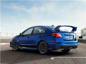 Subaru WRX STI 2014 вид сзади фото 1
