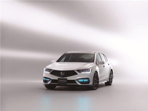 Новость про Honda - Honda представила свои автомобили с совершенным автопилотом