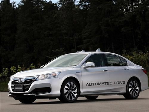 Honda представит автономный автомобиль в 2025 году