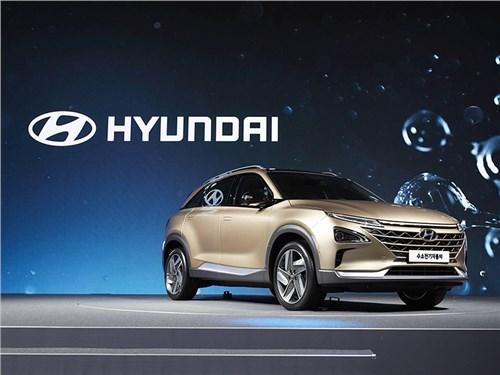 Hyundai назвал дату премьеры водородного кроссовера