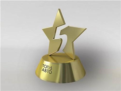 Назван шорт-лист ежегодной премии «Топ-5 Авто»