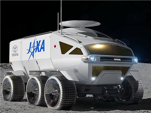 Луноход от Toyota построят на базе серийной модели