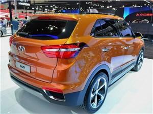 Hyundai IX25 - Hyundai ix25 concept 2014 вид сзади