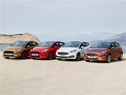 Ford представил новое поколение модели Fiesta