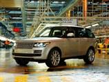 Новый Range Rover обойдется разработчикам в 370 млн фунтов стерлингов