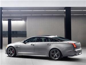 Новый Jaguar XJ - Jaguar XJR 2013 вид сбоку