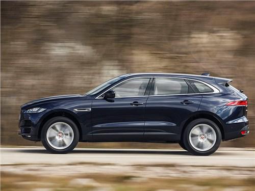 Jaguar F-Pace получил новые двигатели и оснащение