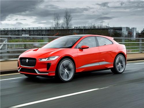 Jaguar начал производство электрического кроссовера I-Pace