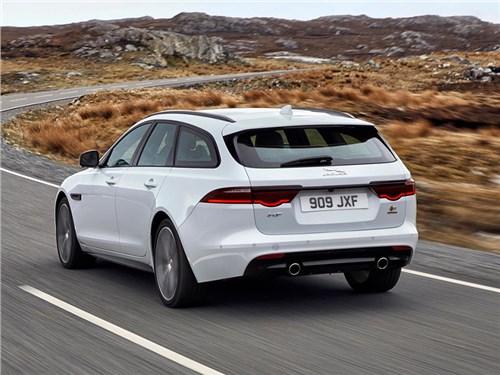 Jaguar рассекретил универсал XF